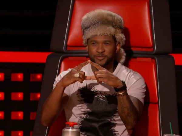 The Voice Usher Raccoon Cap