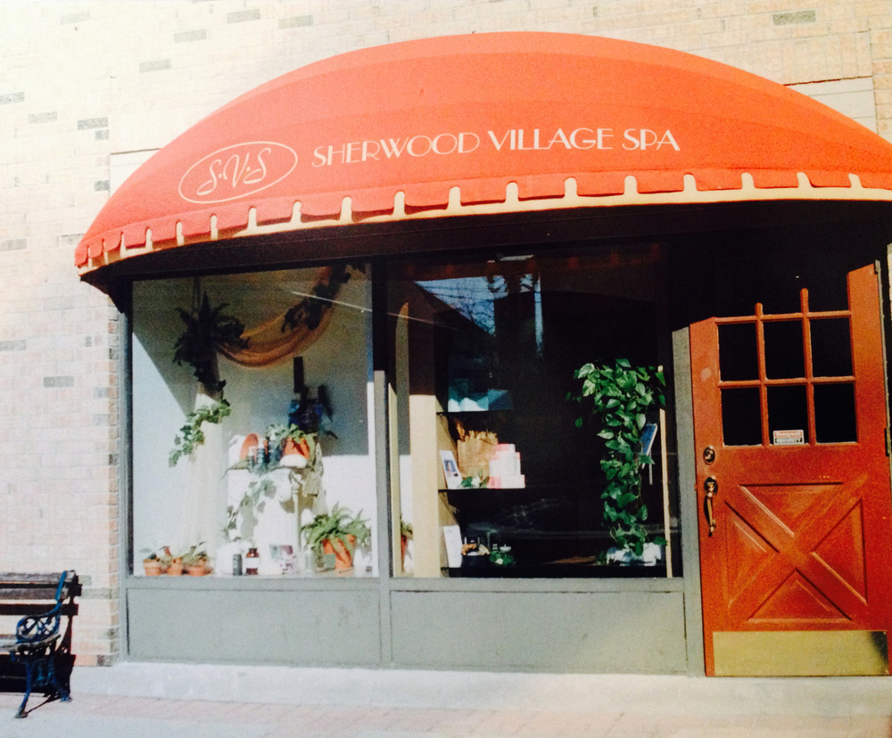 Sherwood Village Spa in 1990