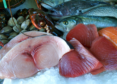 Local Swordfish, Black Seabass, Weakfish, Lobster, Clams & Tuna