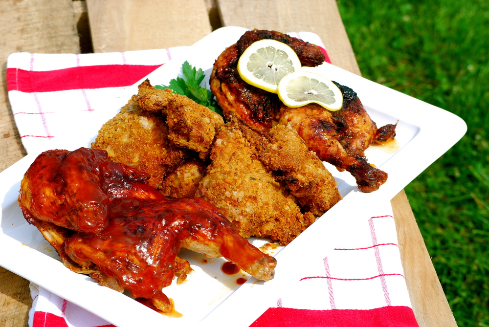 BBQ, Picnic, & Lemon Chicken