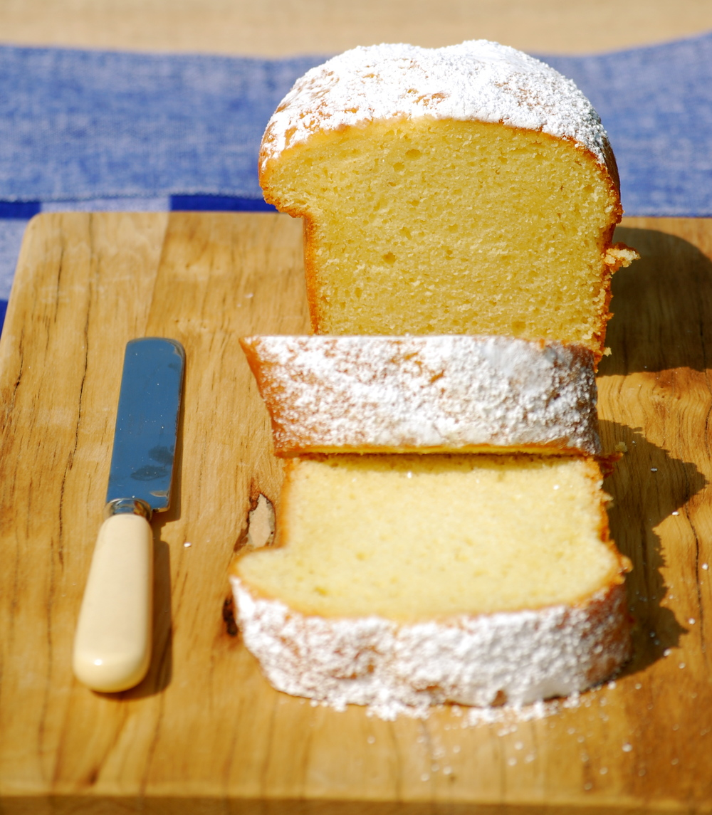 Claire's Lemon Pound Cake.