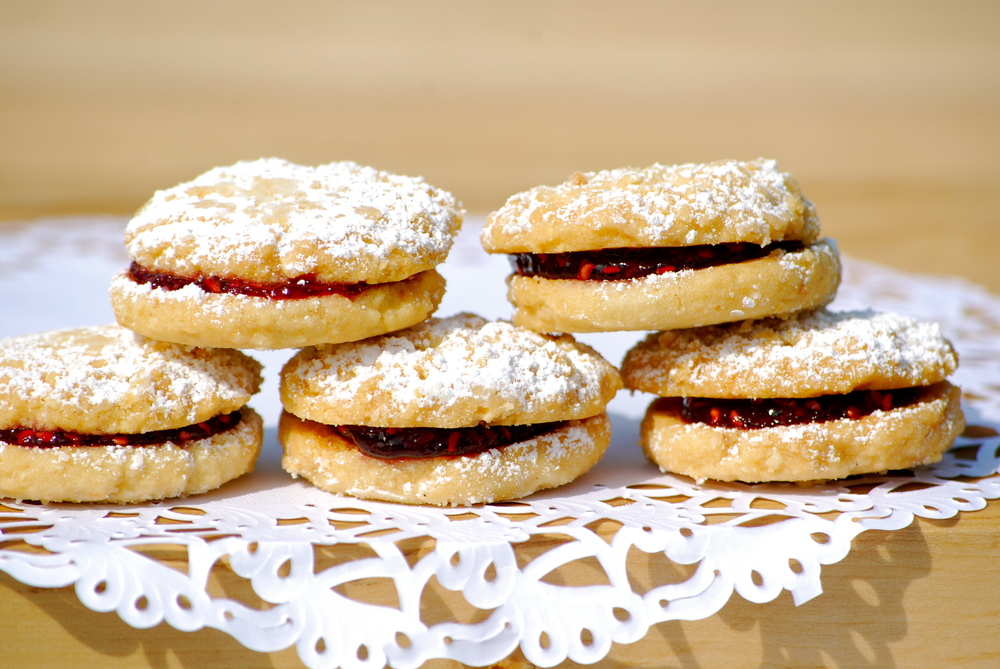 Lisa's Raspberry Almond Cookies