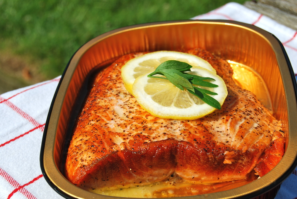 Pan Seared Wild Alaskan Salmon