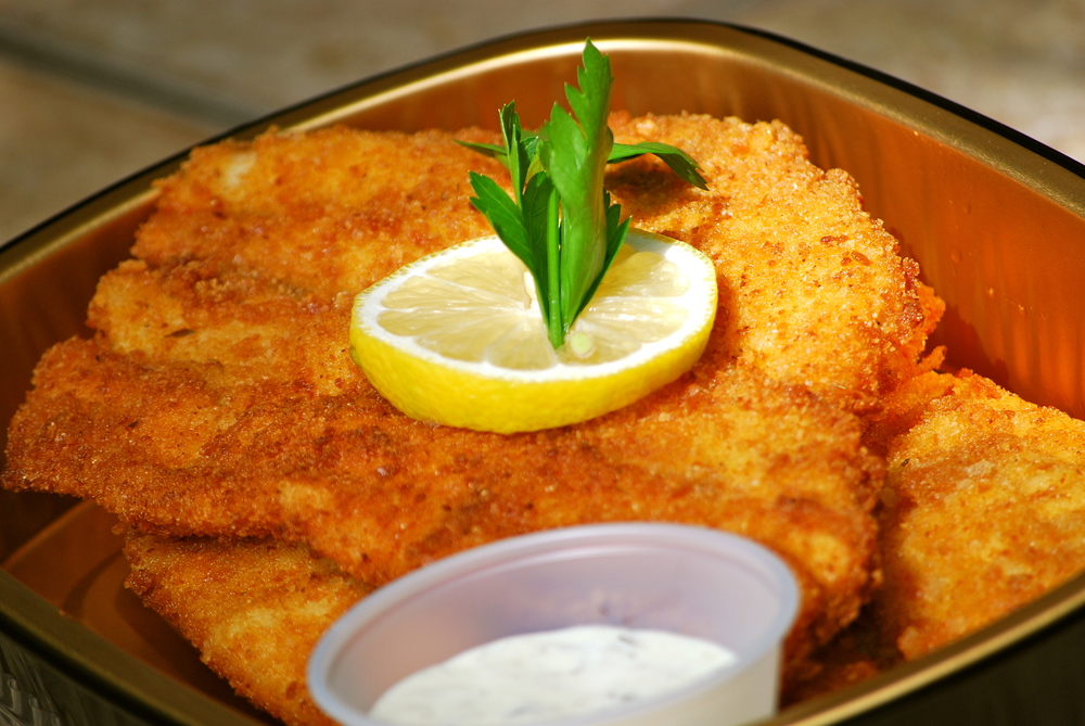 Fried Local Fluke with Tartar Sauce