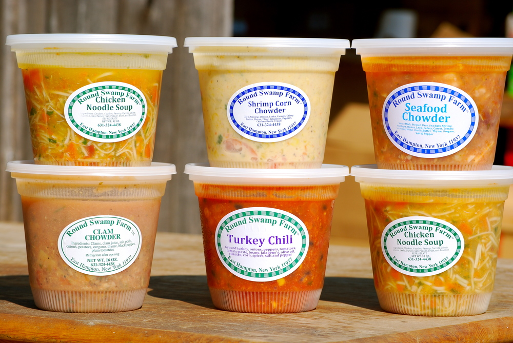 Assorted Soups & Chowders