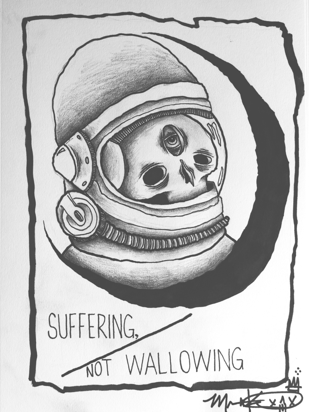 suffer alone