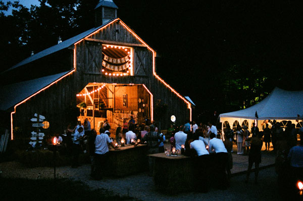 My dream wedding...until I realized a barn like this equipped with bathrooms, a food prep area, and electricity is hard to come by!