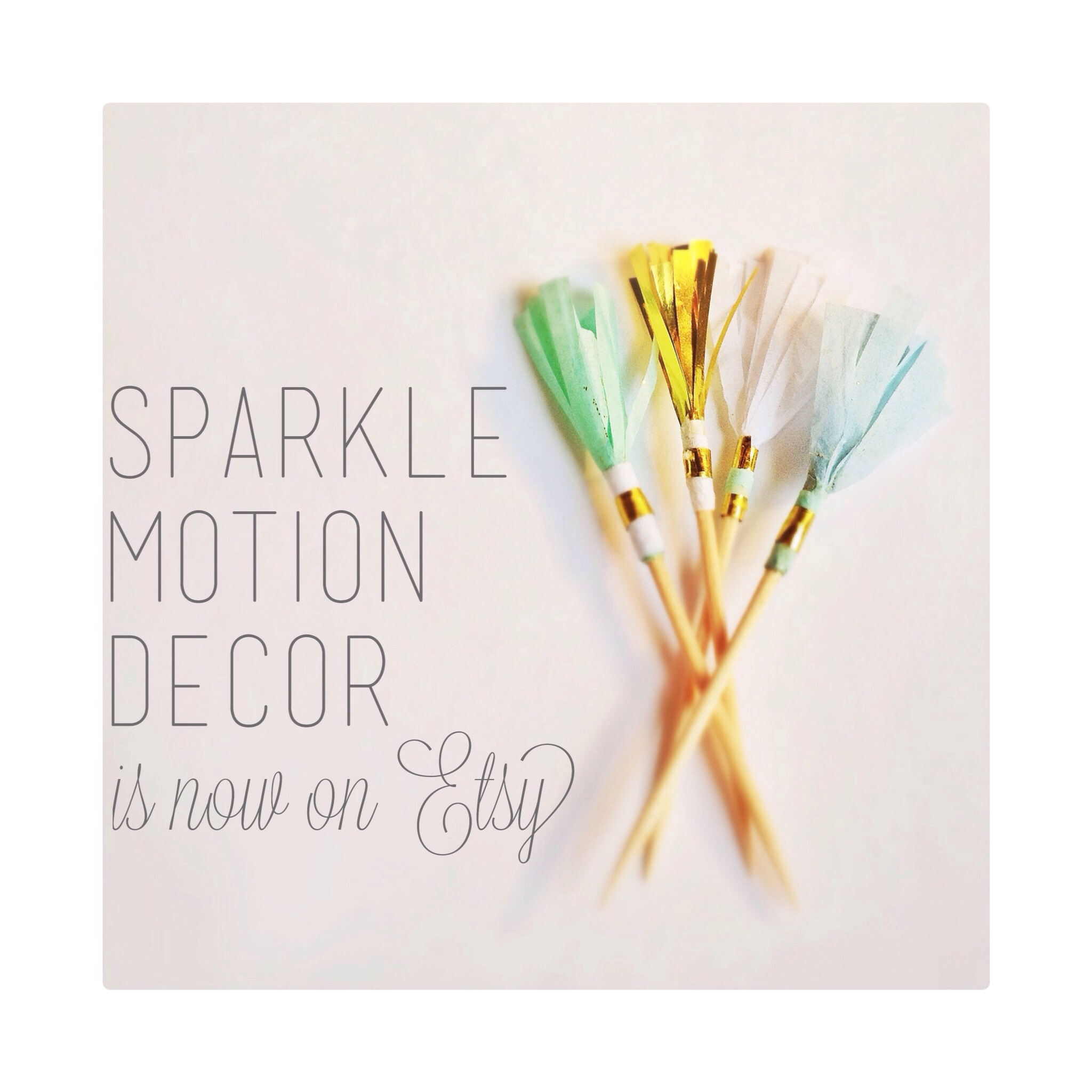 Sparkle Motion Decor is on Etsy!