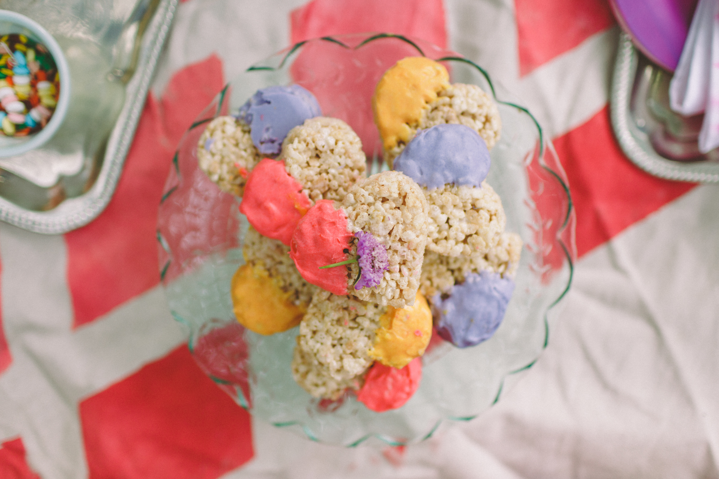 photo by with love and embers; rice krispy treats by molly's table