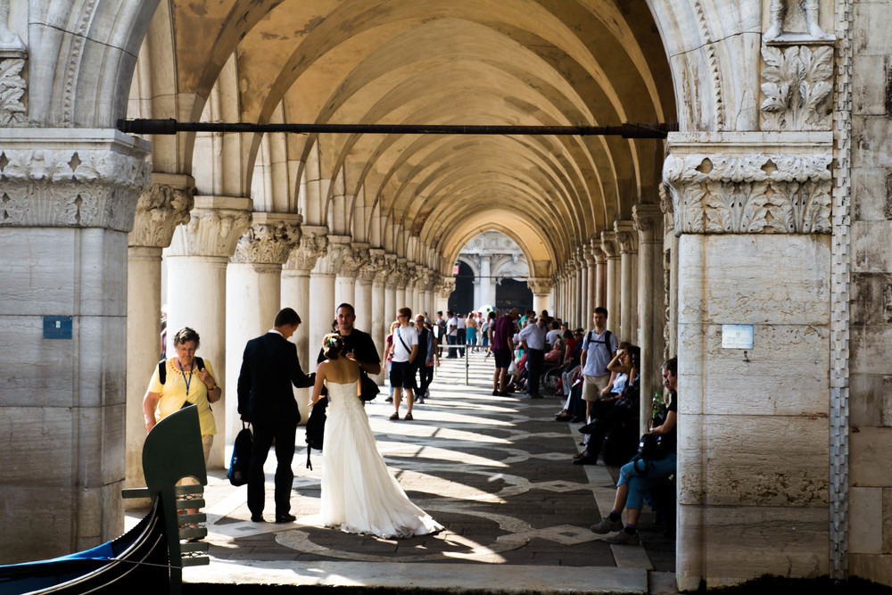 Wedding Photo, Photo: Venice, Italy