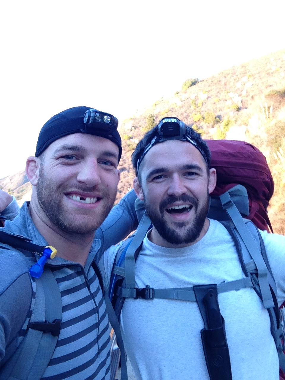 Beards are a must for any wilderness excursion