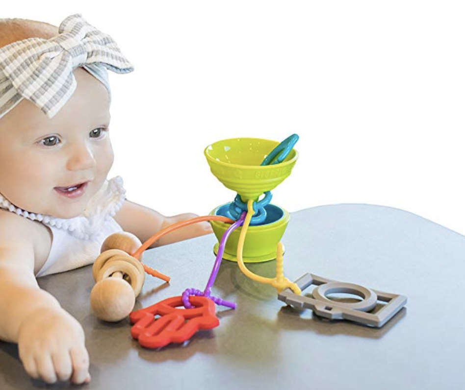 Copy of Grapple Suction Baby Toy Holder 6-12 Months Green