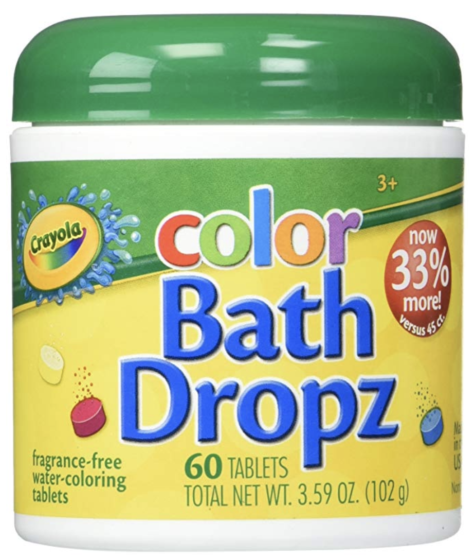 Copy of Crayola Color Bath Dropz 3.59 Ounce (60 Tablets)