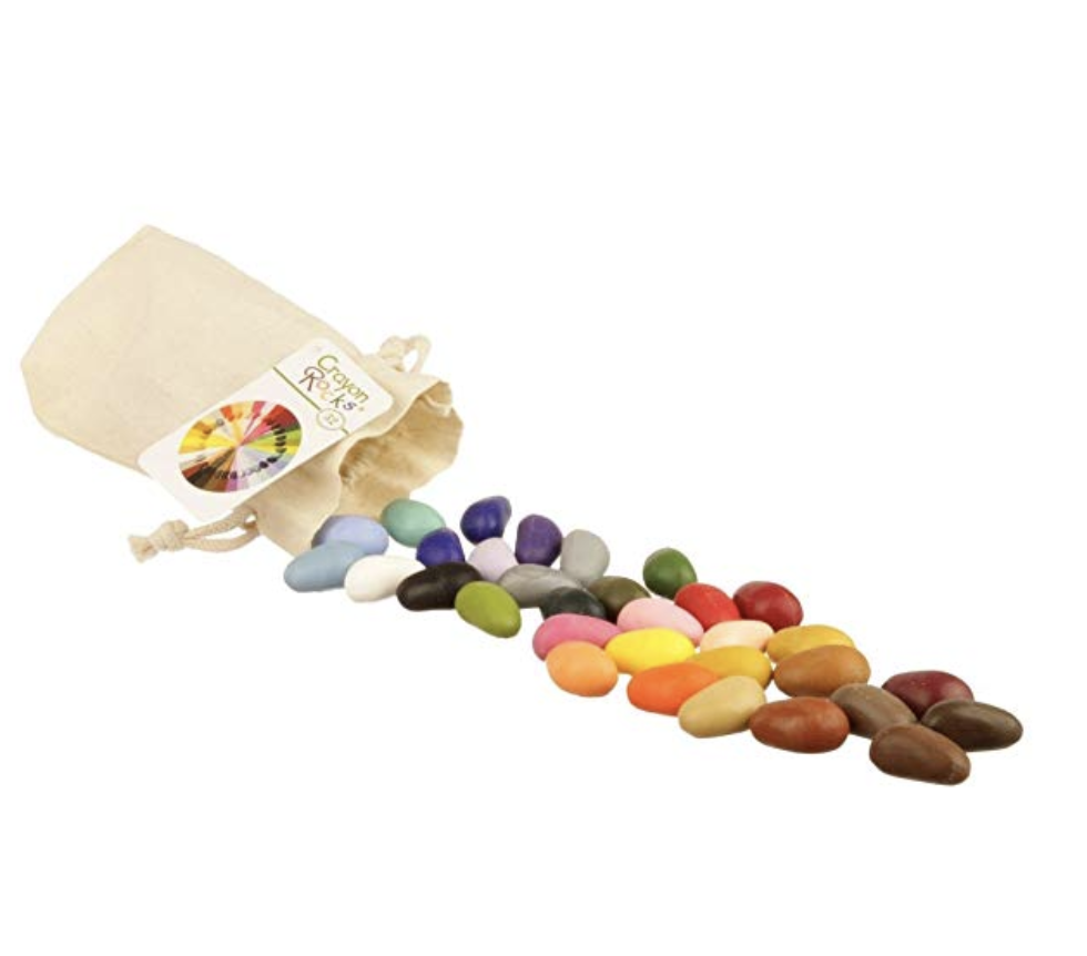 Copy of Crayon Rocks 32 Color in a Muslin Bag