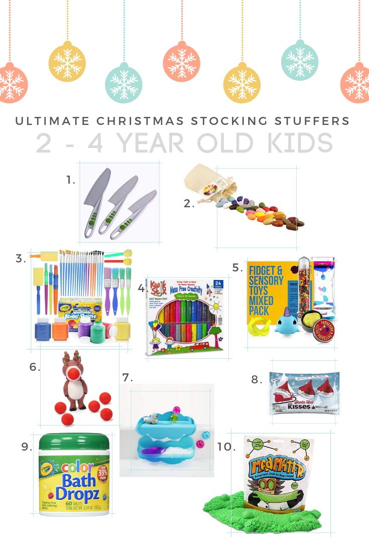 2 year old 3 year old 4 year old 5 year old stocking stuffer ideas