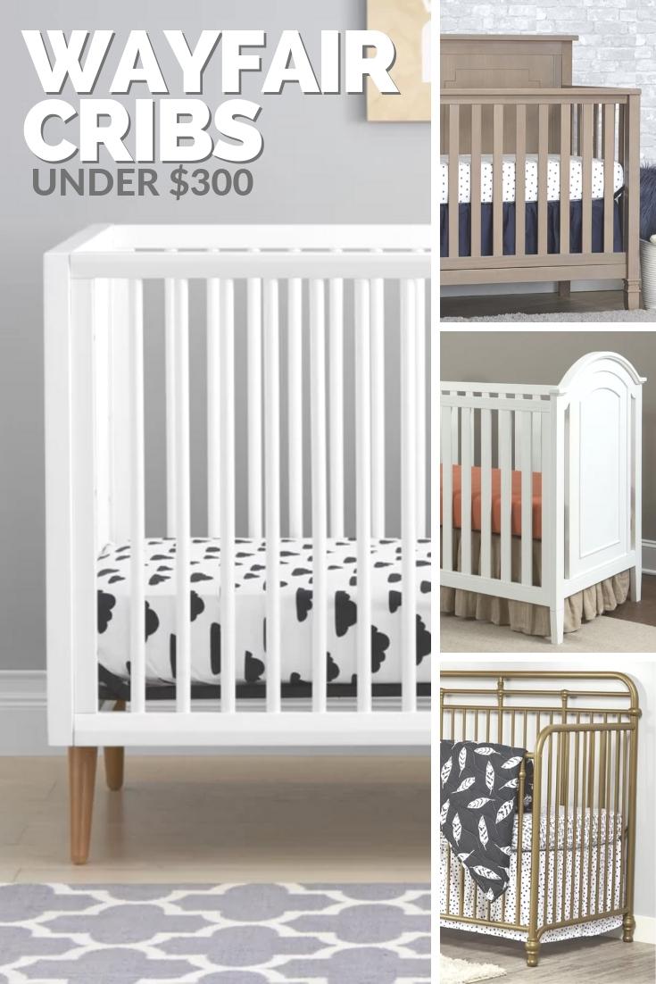 wayfair cribs under $300