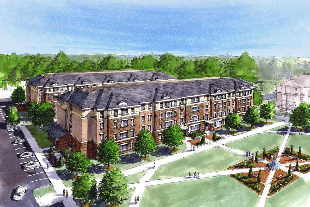 Richard Bland Student Housing