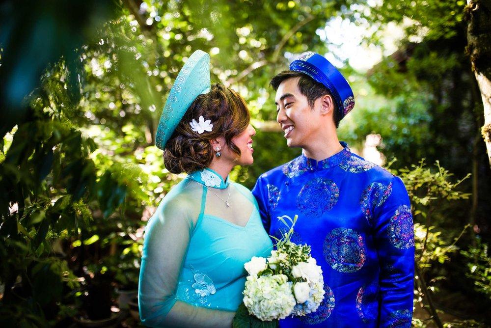 Andy Harley Vietnamese Tea Ceremony Portland Wedding Peter