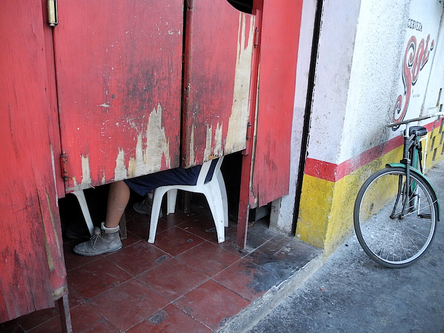 Neighborhood bar, Valladolid, Mexico, 2013. © Kristina Feliciano.