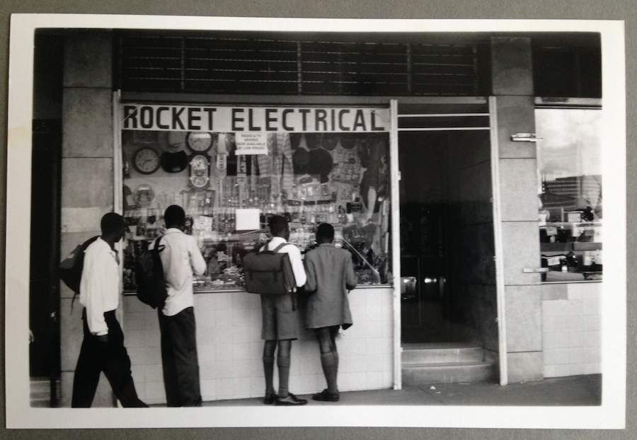 Rocket Electrical, Tanzania, 2001, by Kristina Feliciano.