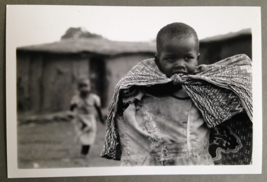 Little girl, Tanzania, 2001, by Kristina Feliciano.