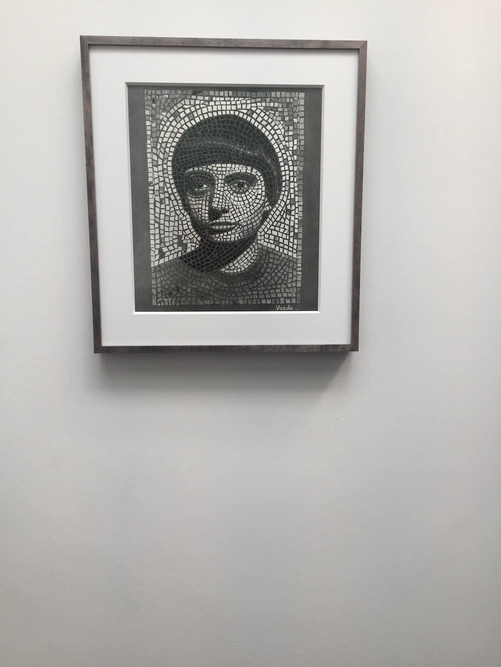 Agnes Varda, self-portrait at 20.