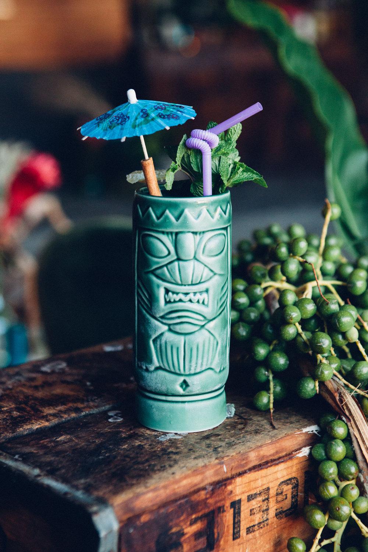 Ceramic Tiki Mug