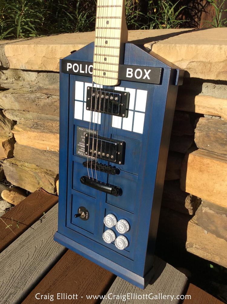 Doctor Who Tardis Guitar