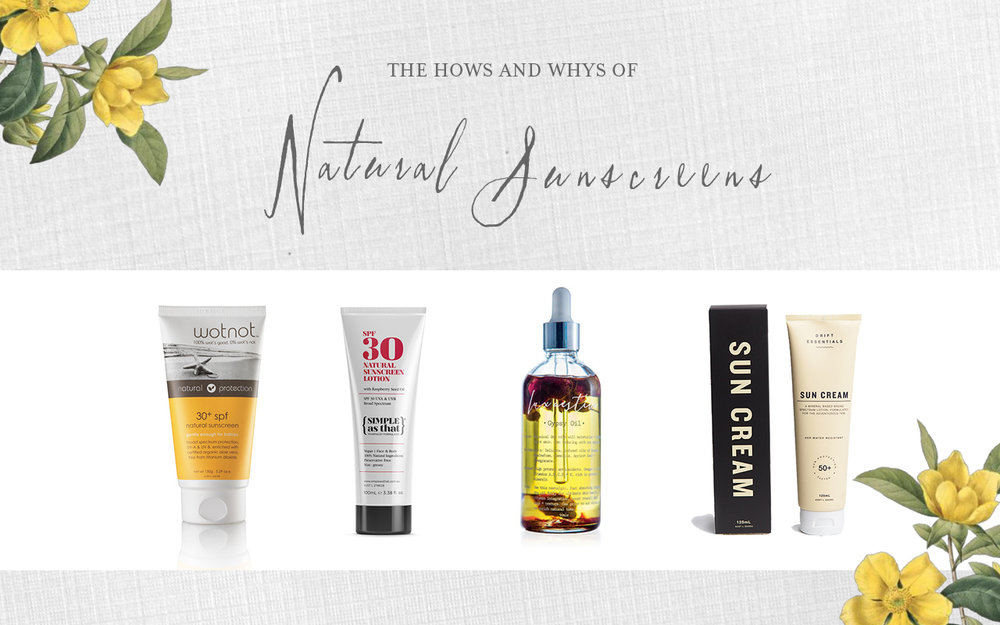 the hows and whys of natural sunscreens ORGANIC INDEX | DEANE & CO.