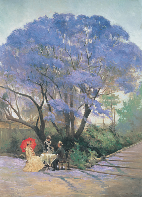 THE HISTORY OF JACARANDA TREES QAGOMA (QUEENSLAND ART GALLERY/GALLERY OF MODERN ART)
