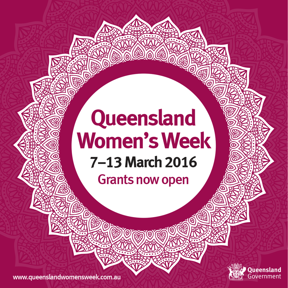 QUEENSLAND WOMEN'S WEEK LAUNCH WEBSITE YWCA QUEENSLAND