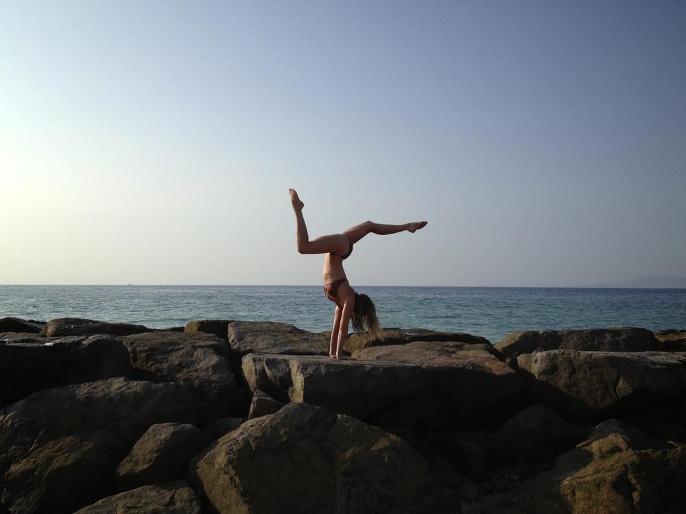 rock handstands