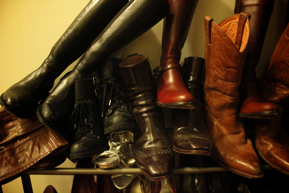 this is how we live. boots on boots. yes, we're moving..jpg