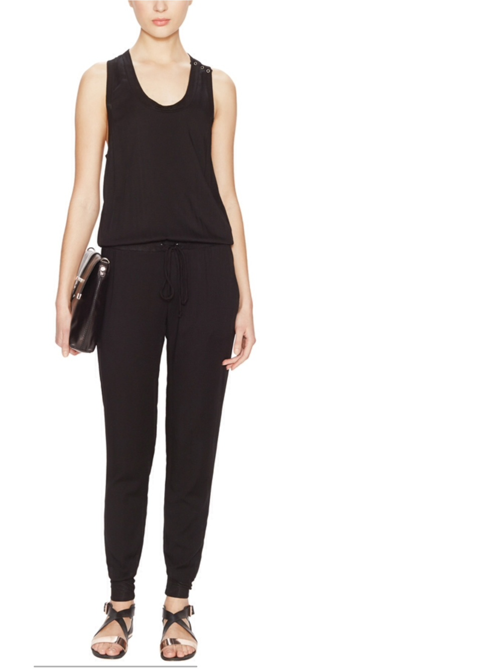 Young, Fabulous & Broke racerback jumpsuit