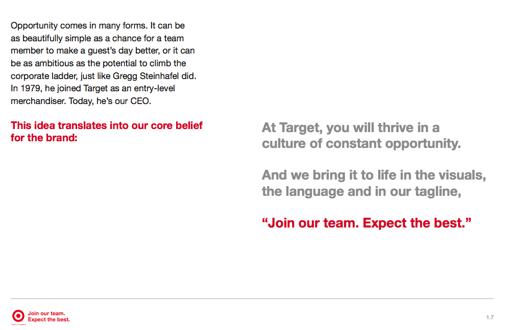 Target - Employment Brand Guidelines