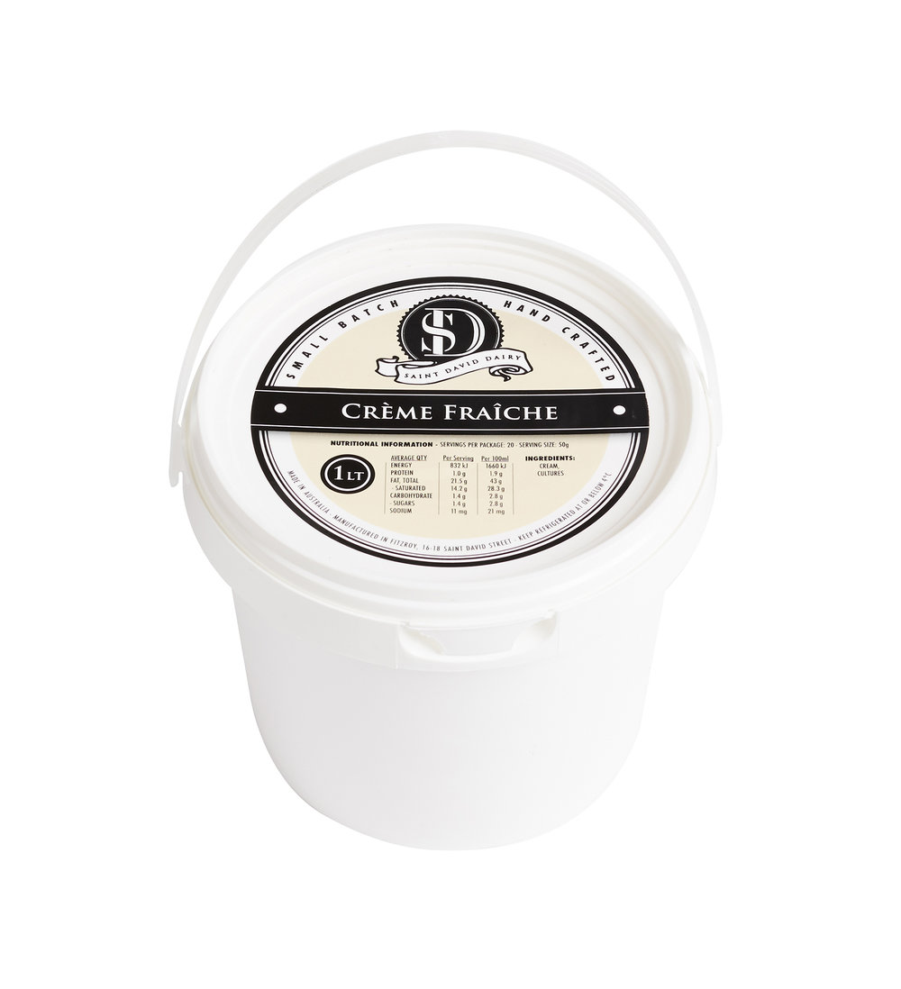 Our delicious Crème Fraiche has a firm texture that is luxuriously smooth and creamy with a delicate finish. Made simply from pure cream and cultures, our Crème Fraiche is a versatile product for cooks and chefs alike.