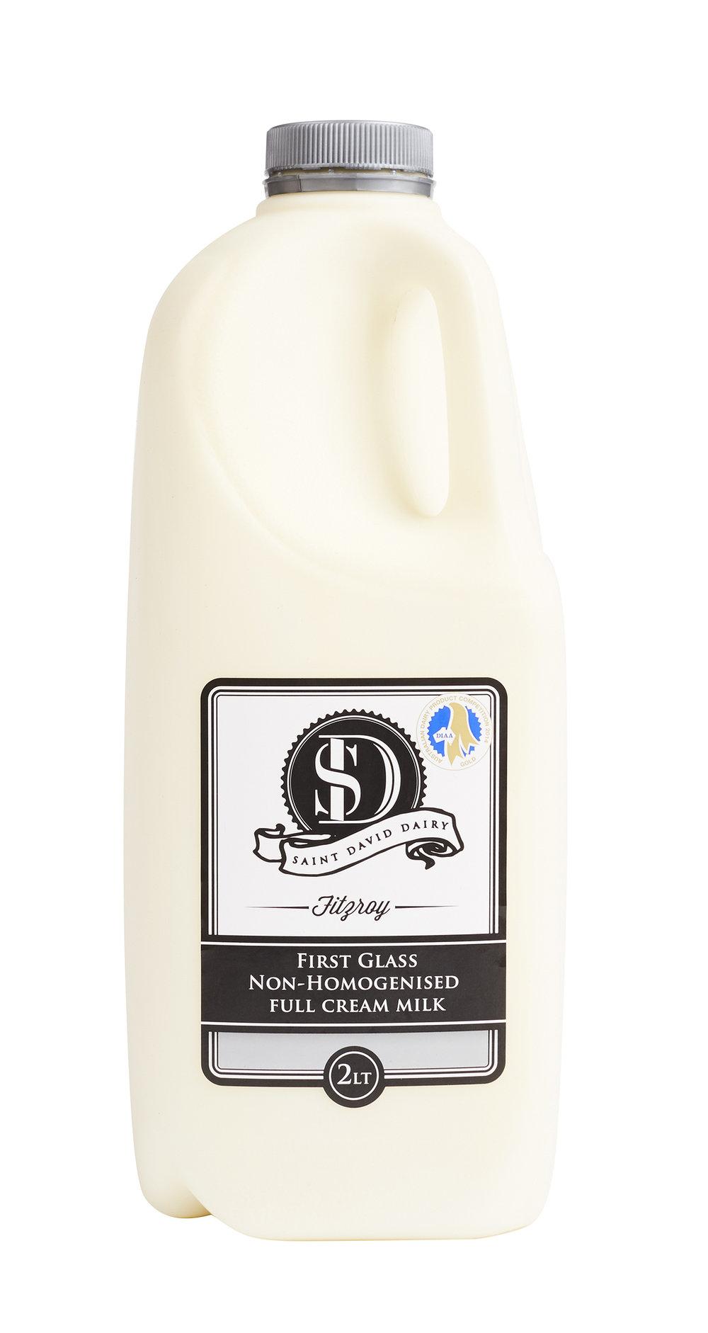 First Glass Non-Homogenised Milk