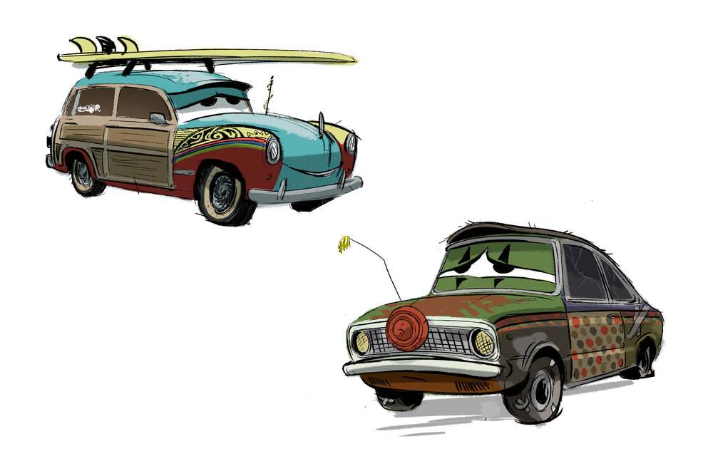 Cars 3 Character Design