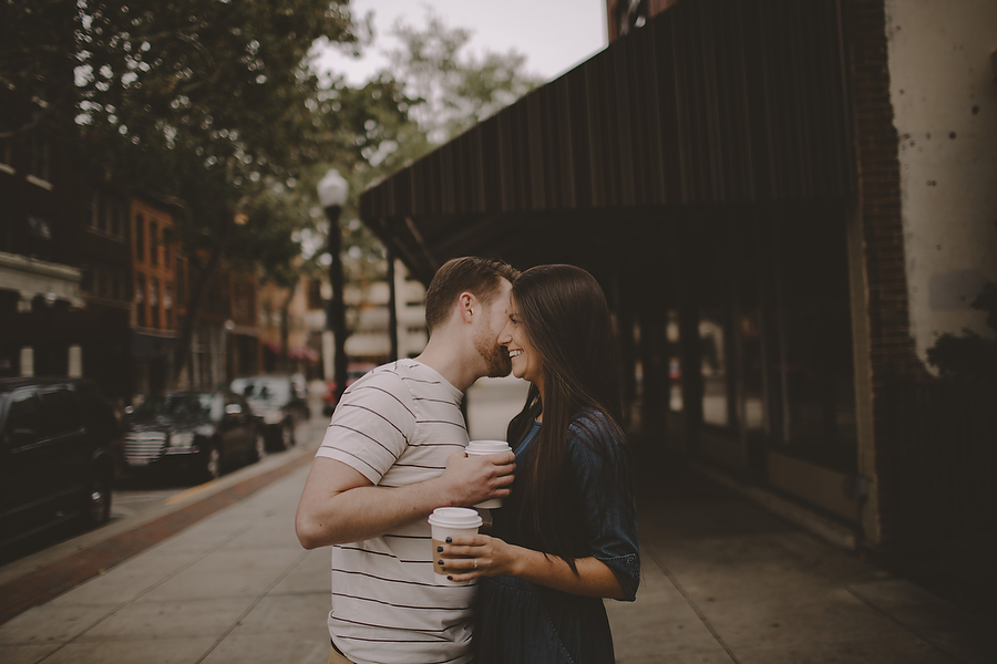 Downtown Fort Wayne, IN Engagement Session