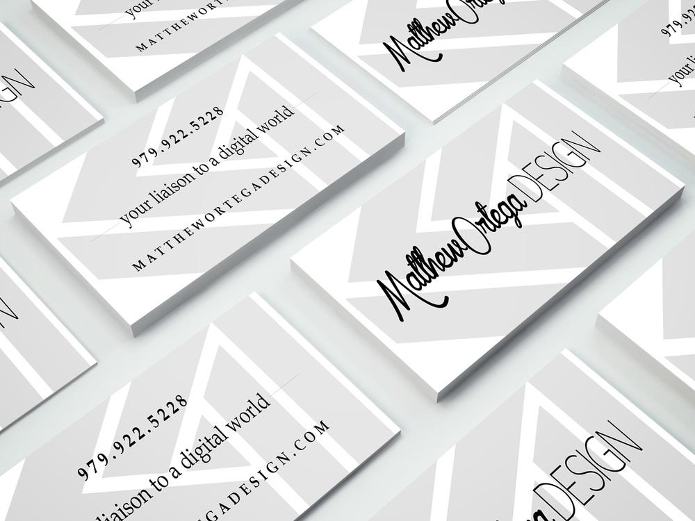 Business cards in one day matthew ortega design http colourmoves