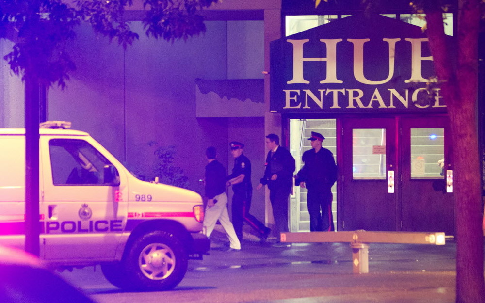 The Hub Mall Shooting