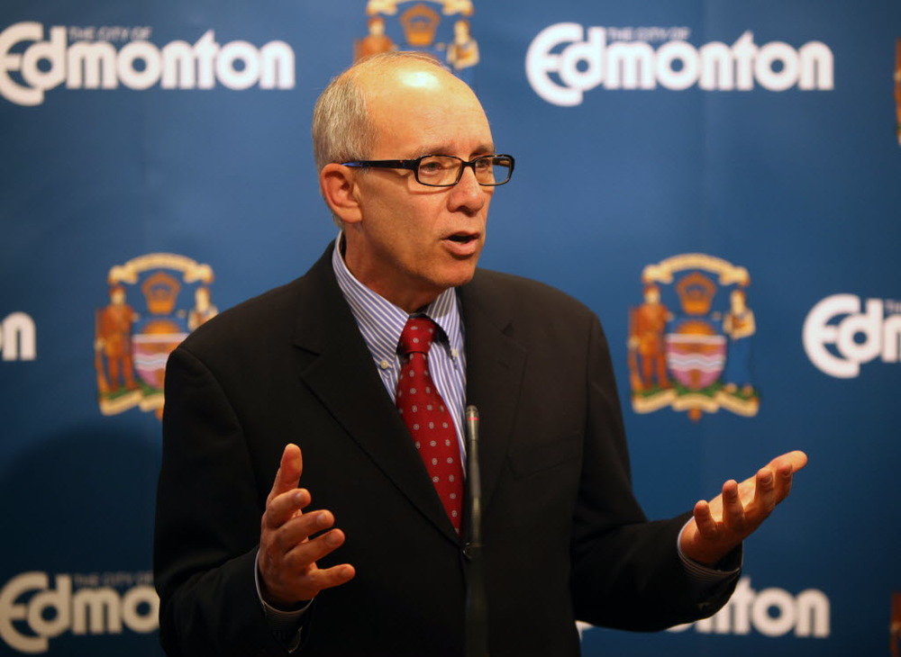 Mayor Stephen Mandel (Edmonton Journal)