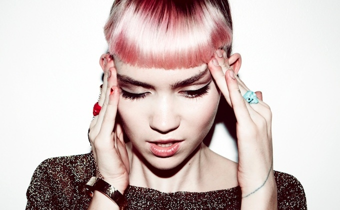 Canadian musician Grimes.