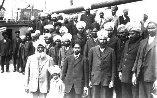 Passengers from the Komagata Maru, 1914.