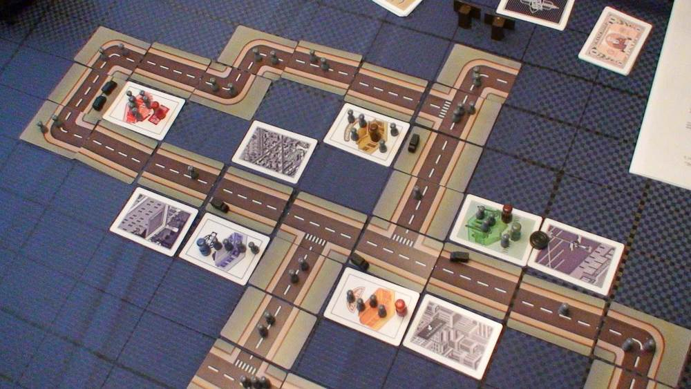 Early edition playtest. The grid mat is unnecessary.