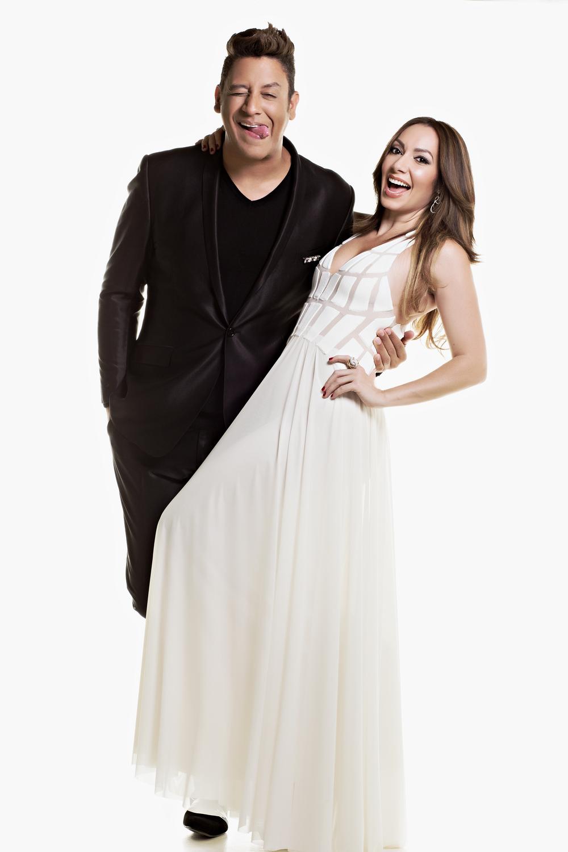"""Reading Pantaleón & Miralba Ruiz. Campaña para el programa de temporada """"Quítame 10""""."""
