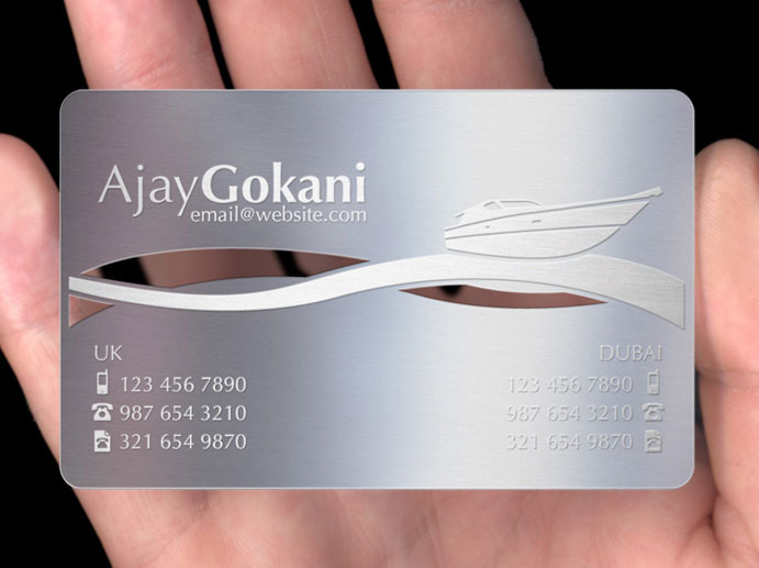 Metal business cards plasmadesign cards reheart Images