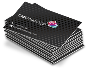 Matt laminated uv spot foiled business cards plasmadesign icon depicting a stack of matt laminated paper cards with a uv spot gloss applied to colourmoves