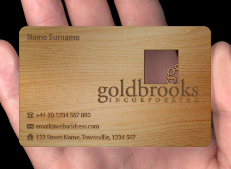 Wood business cards plasmadesign cherry10g reheart Choice Image