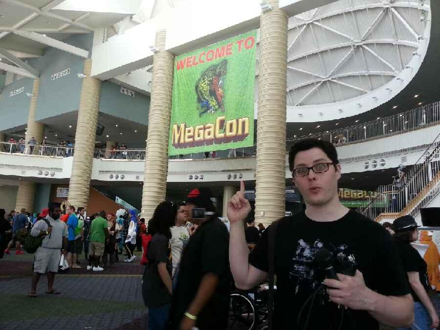 Awkward Jarman at MegaCon in Orlando